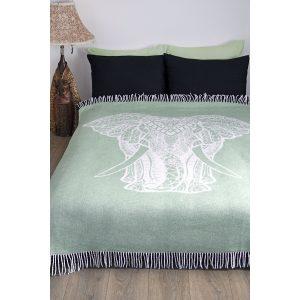 купить Плед Lotus Zeus Elephant Ментоловый фото
