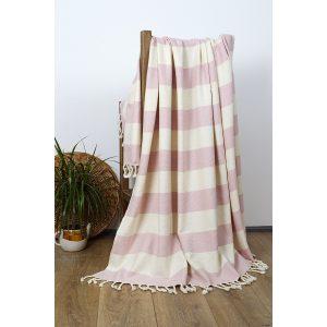 купить Плед-накидка Barine Deck Throw Pink Розовый фото