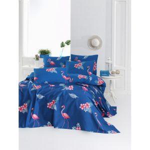 купить Покрывало пике Lotus Home Perfect Flamingo Голубой фото