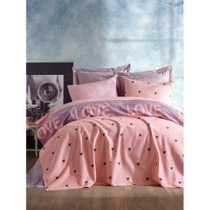 купить Покрывало пике Lotus Home Perfect Love you Розовый фото