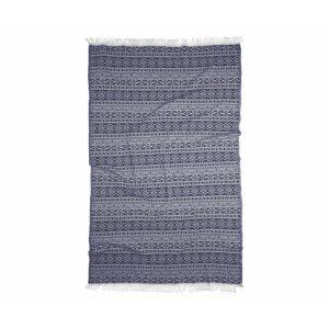 купить Пляжное полотенце Barine Pestemal Nordic indigo Синий фото