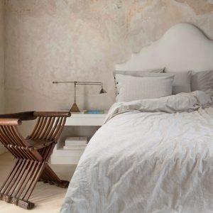 купить Постельное белье Barine Washed cotton Shint beige Бежевый фото
