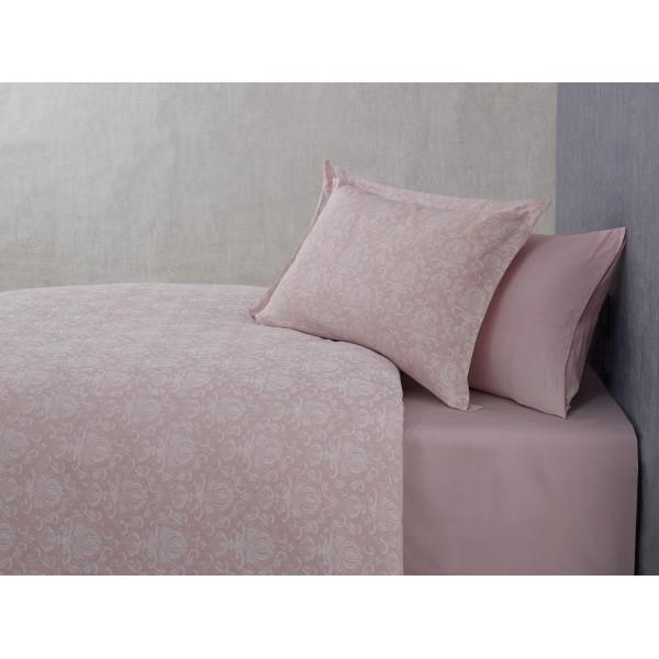 купить Постельное белье Buldans Blair gul kurusu king size Розовый фото
