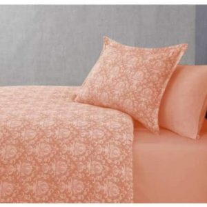 купить Постельное белье Buldans Blair kiremit king size Оранжевый фото