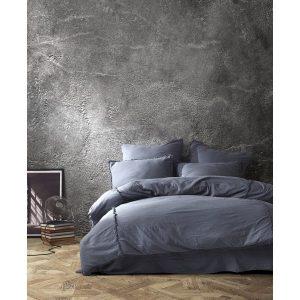 купить Постельное белье Buldans Burumcuk mor-gri king size Серый фото