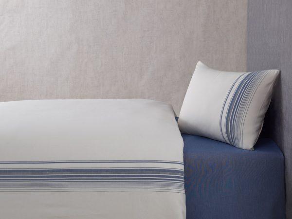 купить Постельное белье Buldans Elisa indigo king size Синий фото
