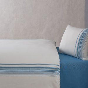 купить Постельное белье Buldans Elisa turquoise king size Голубой фото