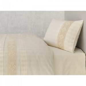 купить Постельное белье Buldans Nazende cream king size Бежевый фото