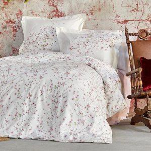 купить Постельное белье Karaca Home ранфорс Annata somon Розовый фото