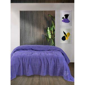 купить Простынь Iris Home махровая Lavanta Фиолетовый фото