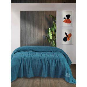 купить Простынь Iris Home махровая Mavi Синий фото
