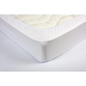 купить Простынь трикотажная на резинке Lotus Белая Белый фото
