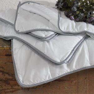купить Одеяло микрогелевое TAC Twin зима-лето Белый фото