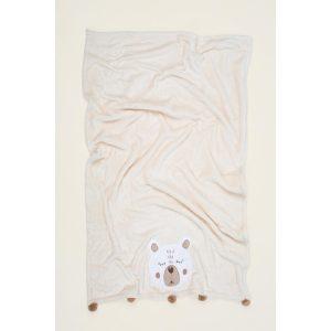 купить Детский плед Irya-Teddy krem Кремовый фото