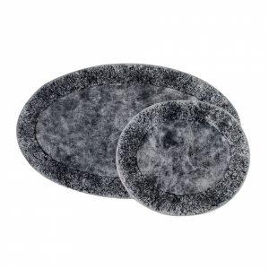 купить Набор ковриков Karaca Home-Barny antrasit Черный|Серый фото
