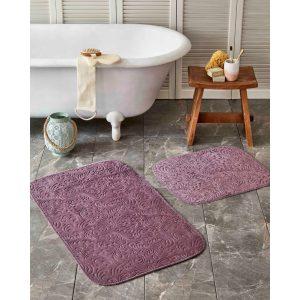 купить Набор ковриков Karaca Home-Delora murdum Сиреневый фото