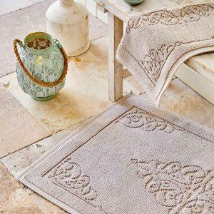 купить Набор ковриков Karaca Home-Milly krem Бежевый фото