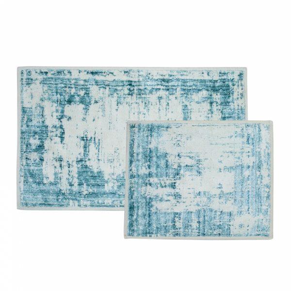 купить Набор ковриков Sarah Anderson-Lery su yesil Голубой фото