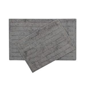 купить Набор ковриков Shalla-Dax antrasit Черный Серый фото