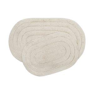 купить Набор ковриков Shalla-Edna ekru Кремовый|Бежевый фото