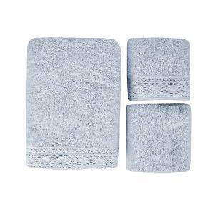 купить Набор полотенец Karaca Home-Lola mavi 3шт Голубой фото