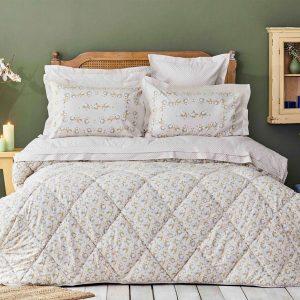 купить Постельное белье с одеялом Karaca Home-Stella bej Кремовый фото