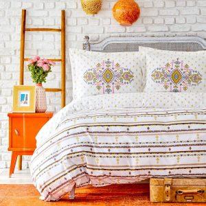 купить Набор постельного белья Sarah Anderson-Prienne sari Желтый фото