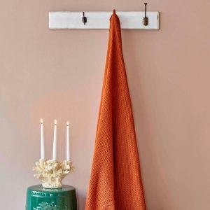 купить Плед Karaca Home-Back To Basic kiremit Оранжевый фото