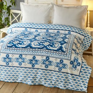купить Плед Karaca Home-Neos mavi Голубой фото