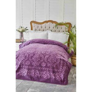 купить Плед Karaca Home-Rauqel best Murdum Фиолетовый фото