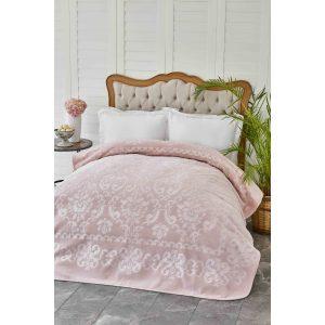 купить Плед Karaca Home-Rauqel best Pudra Розовый фото