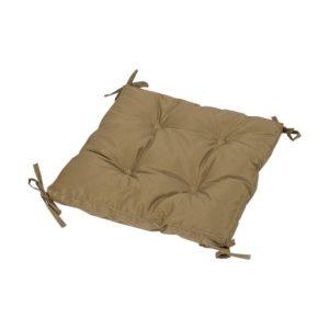 купить Подушка на стул с завязками Iris Home Optima Коричневый Коричневый фото