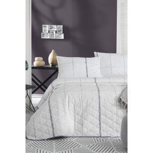купить Покрывало стеганое с наволочками Enlora Home-Candaras Beyaz Белый фото