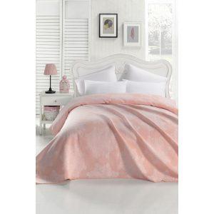 купить Покрывало жаккардовое Eponj Home-Kristal pudra Розовый фото