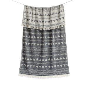 купить Пляжное полотенце Barine Pestemal-Chalkboard 95x165 Black Серый фото
