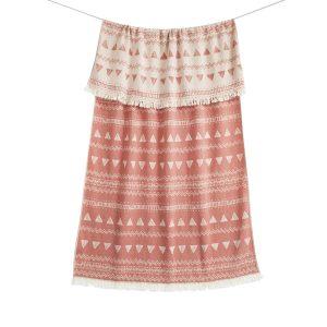 купить Пляжное полотенце Barine Pestemal-Chalkboard 95x165 Pottery Clay Розовый фото