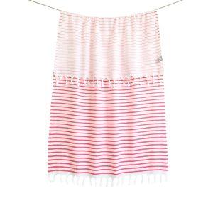 купить Пляжное полотенце Barine Pestemal-Reef 90x165 Flamingo Розовый фото
