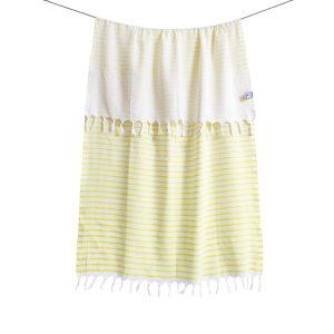 купить Пляжное полотенце Barine Pestemal-Reef 90x165 Sunshine Желтый фото