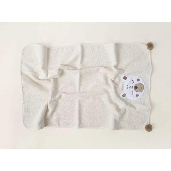 купить Полотенце детское Irya-Teddy krem Кремовый фото