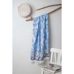 купить Пляжное полотенце Irya Pestemal-Lance 90x175 Голубой фото