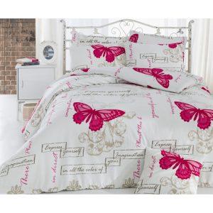 купить Постельное белье Eponj Home-Cocona A.krem Розовый фото