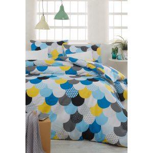 купить Постельное белье Eponj Home-Damla mint Голубой фото