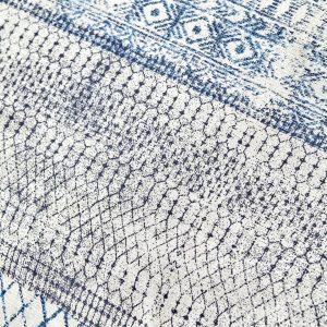 купить Постельное белье Karaca Home-Gianna indigo пике Голубой|Серый фото