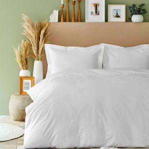 купить Постельное белье Karaca Home-Back To Basic beyaz Белый фото