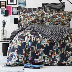 купить Постельное белье Karaca Home-Tanis siyah Черный|Синий фото