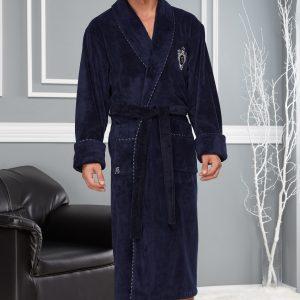 купить Мужской халат Nusa ns 2960 Синий фото
