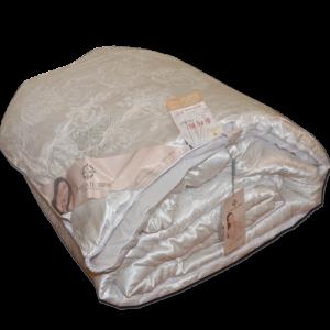 купить Одеяло шелковое двуспальное 12984 Кремовый фото