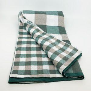 купить Плед хлопок SOFT COTTON green Зеленый фото