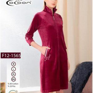 купить Женский халат Cocoon 12-1565 dark rose Розовый фото