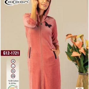 купить Женский халат Cocoon 12-1721 rose Розовый фото